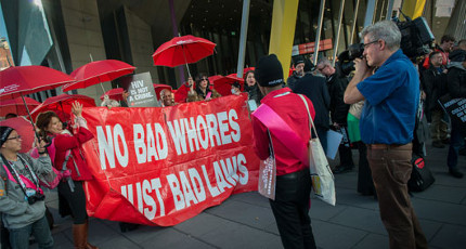 Marcha Oficial contra el Sida hasta Federation Square. Foto: International AIDS Society/Steve Forrest